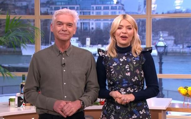 Holly and Phil baffled after mystery man interrupts their live This Morning segment
