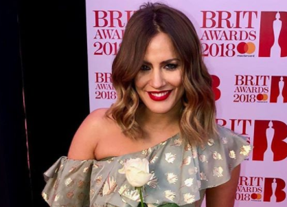 Caroline Flack confirms romance with CBB's Andrew Brady in a very public display of affection
