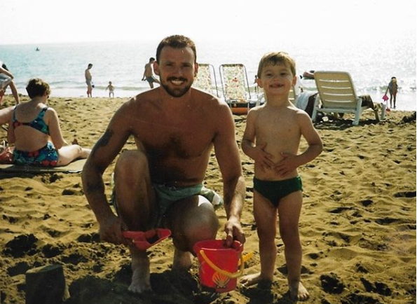 Jake Quickenden shares throwback snap of his late dad... and his fans can't get over the family resemblance