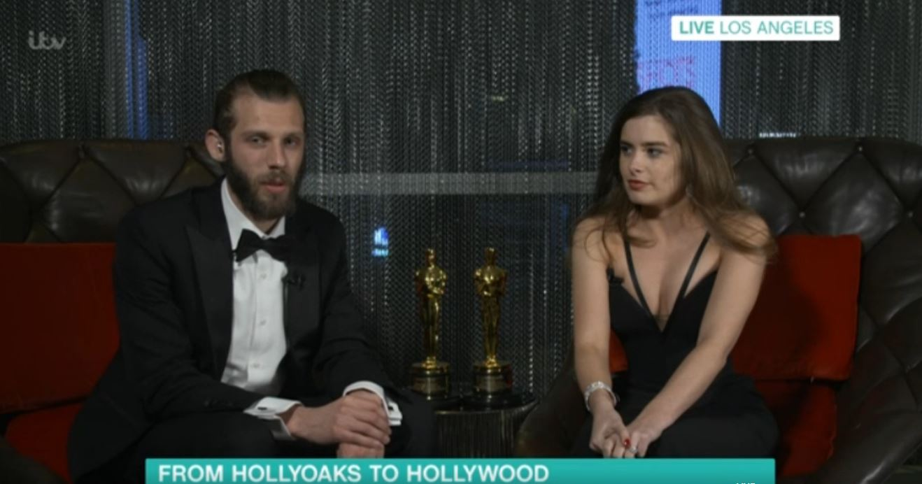 Hollyoaks' Rachel Shenton paid secret tribute to This Morning at the Oscars