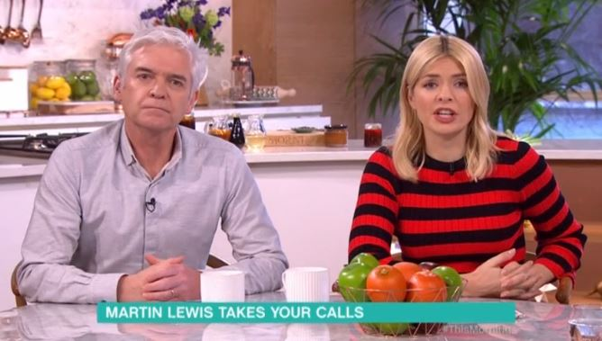 Holly Willoughby compared to Dennis The Menace by mocking This Morning viewers