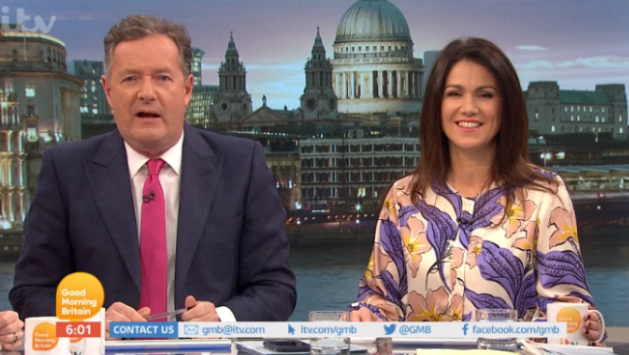 "Piers Morgan says he's been ""humiliated"" after GMB blunder"