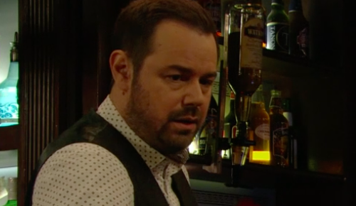 "EastEnders viewers in hysterics as Mick Carter asks a male punter for ""a roll about"""