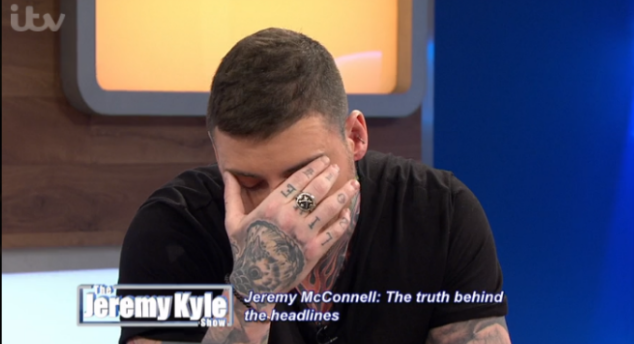 Jeremy McConnell breaks down in tears during tough Jeremy Kyle grilling