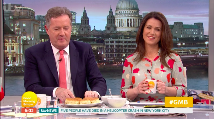 Piers Morgan reignites feud with Alex Beresford live on Good Morning Britain