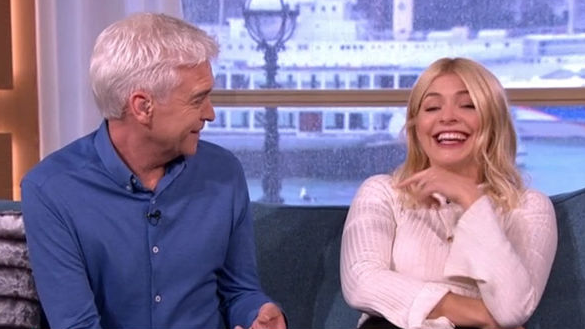 This Morning interview interrupted by Holly Willoughby's 'attention seeking'