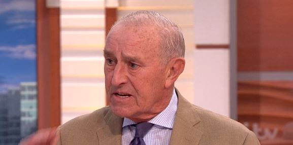 Former Strictly judge Len Goodman takes a cheeky swipe at Piers Morgan