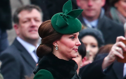 Glowing Kate Middleton wows fans with her blooming baby bump