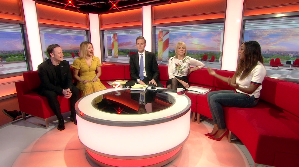 BBC Breakfast studio blunder has guests and presenters roaring with laughter