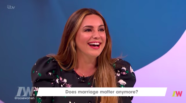 Kelly Brook apologises to boyfriend after TV comments about marriage