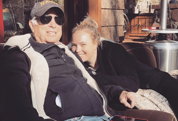 Meghan McCain Updates Fans on Father's Health After Emergency Surgery