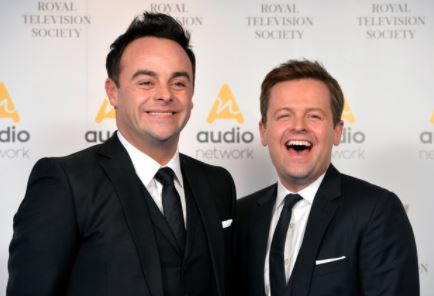 Ant and Dec send joint message to fans on Christmas morning