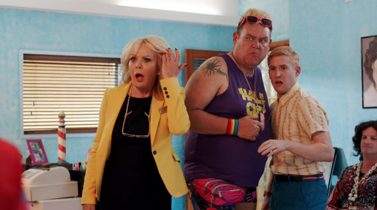 Benidorm viewers convinced they spotted Dec Donnelly in last night's show... IN DRAG
