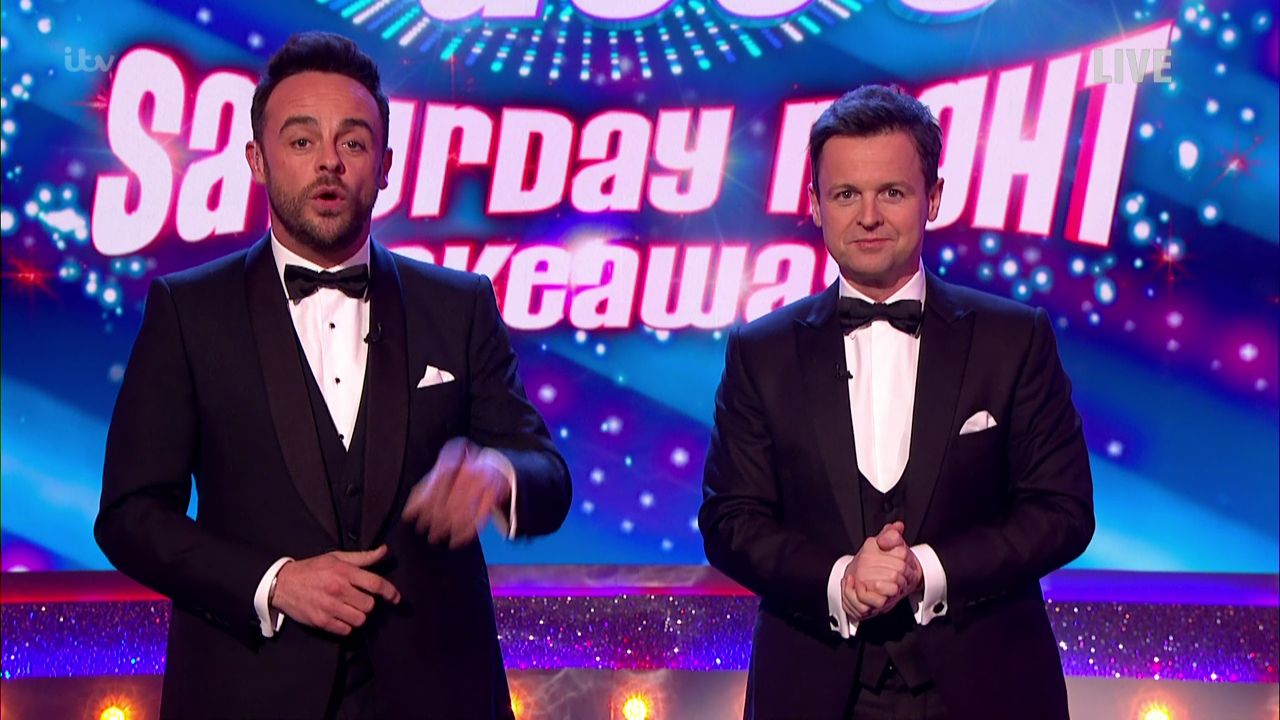 Ant & Dec's Saturday Night Takeaway nominated for TV BAFTA