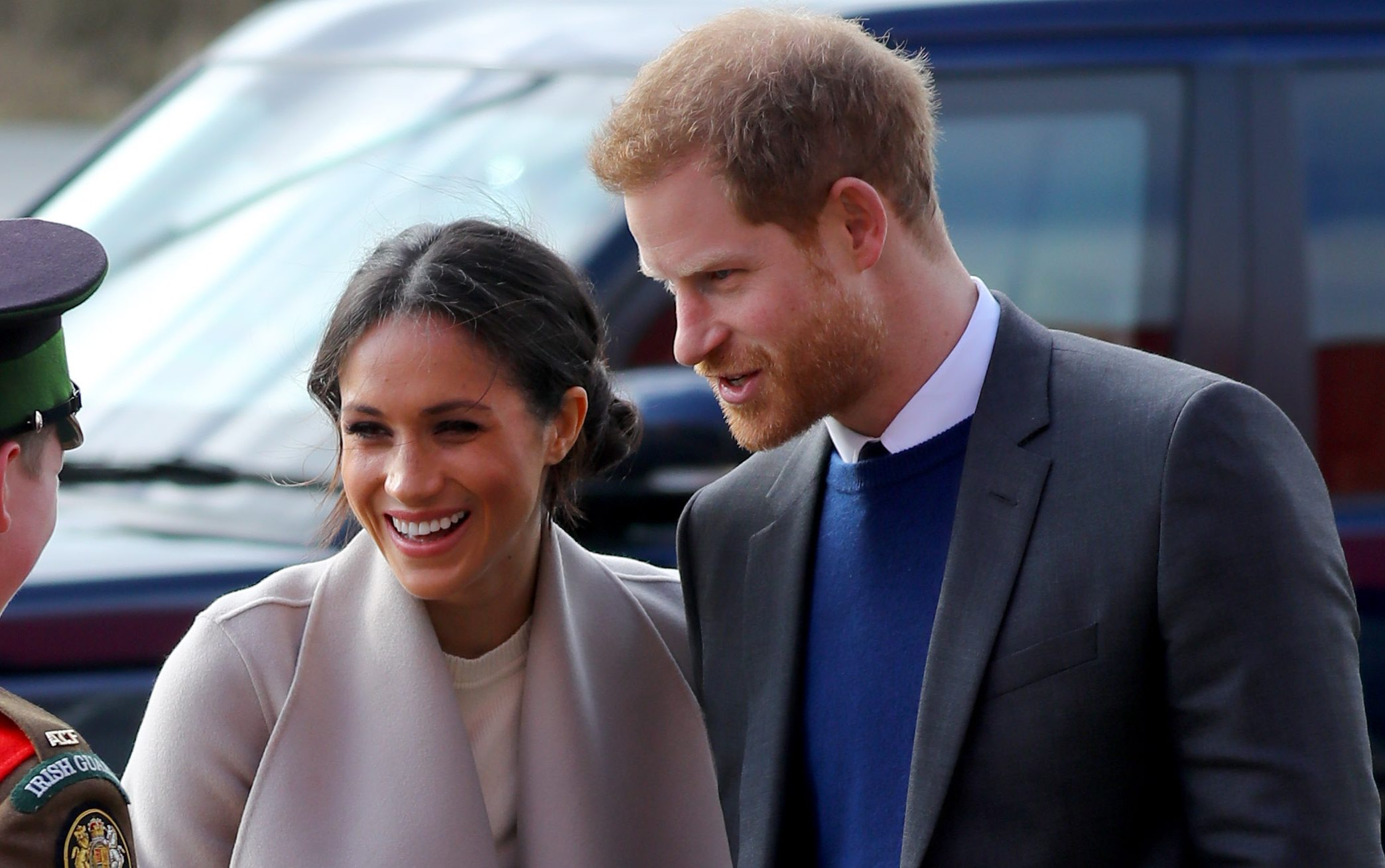 Prince Harry and Meghan Markle issue statement on her dad