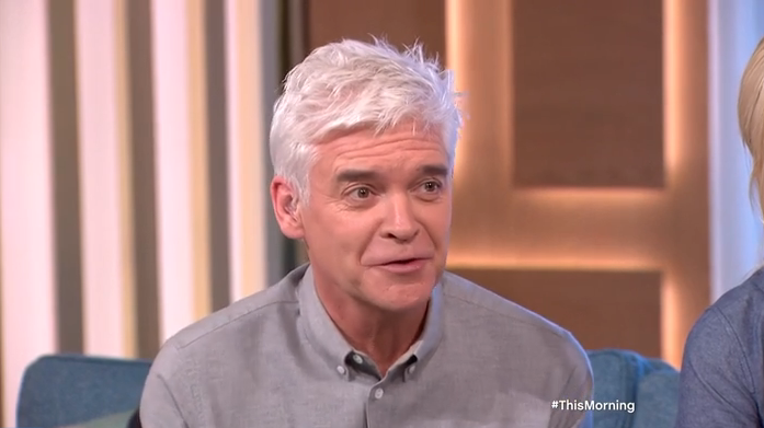 This Morning guest with 34M chest leaves Phillip Schofield flustered