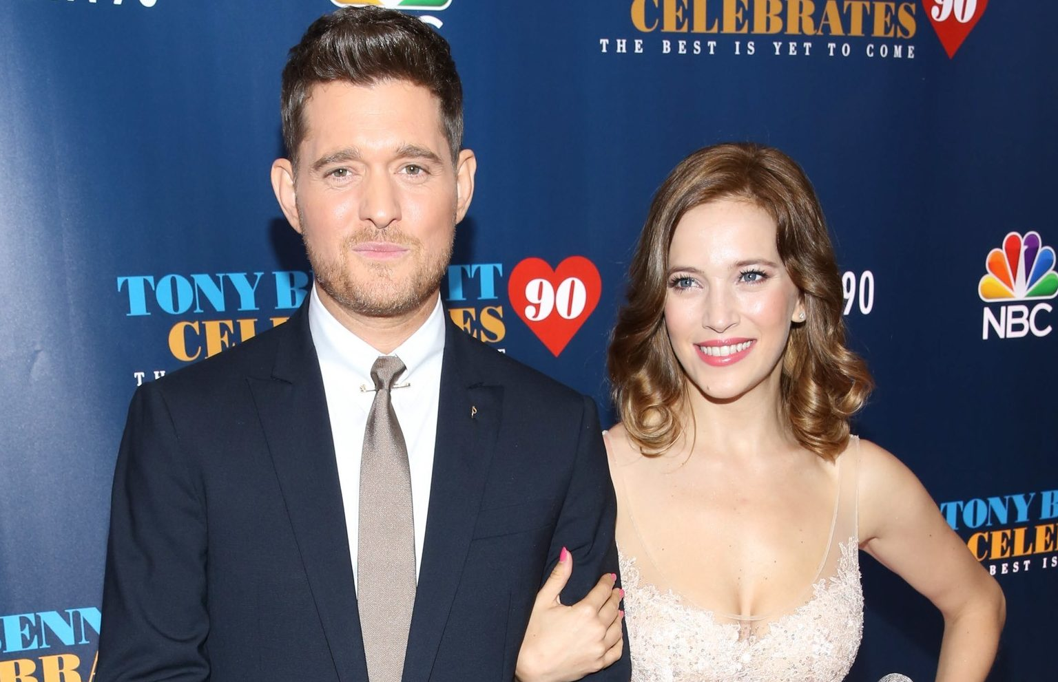 Michael Bublé and wife Luisana Lopilato welcome third child
