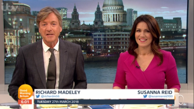 Eagle-eyed GMB viewers spot Susanna Reid's nail polish pot during serious interview