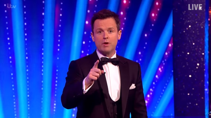 Dec opens up about going live without Ant on BGT