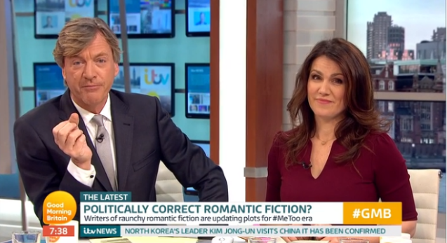 Susanna Reid defends Richard Madeley after backlash over weather girl joke