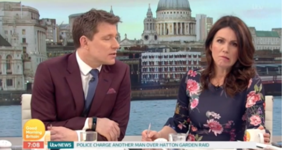 Susanna Reid admits she's already in holiday mode as she gets the time wrong on GMB