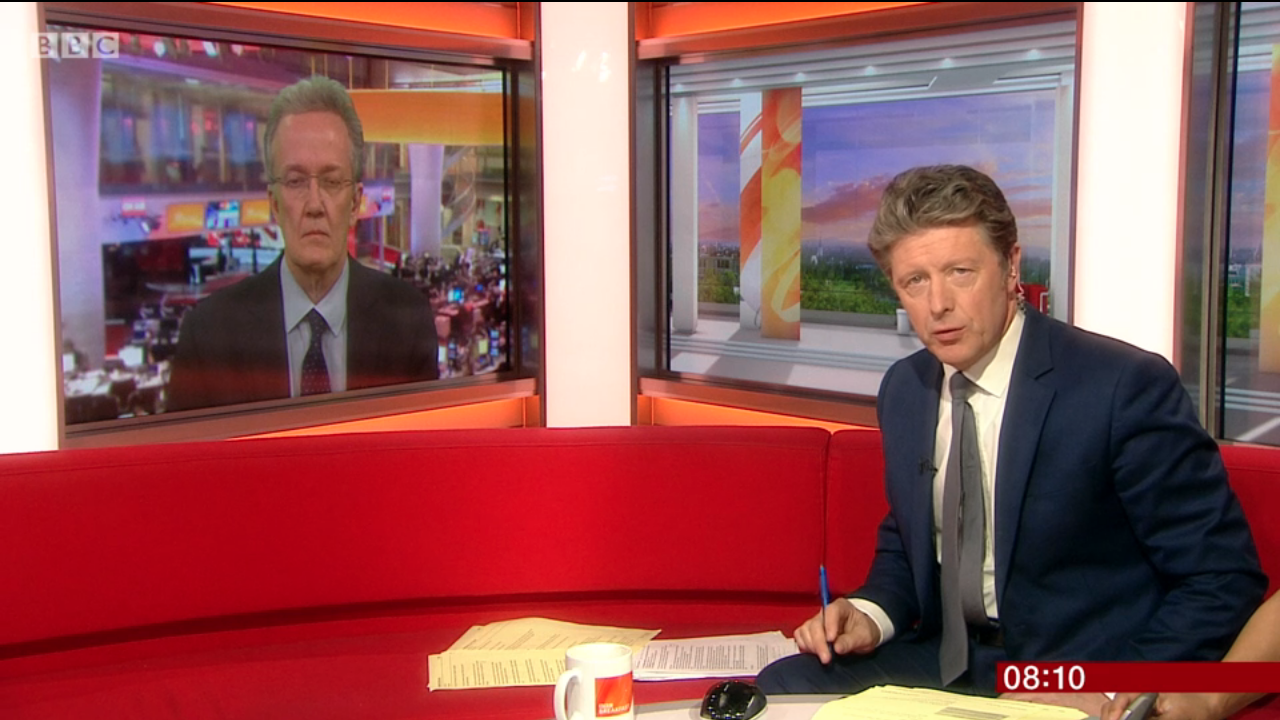 BBC Breakfast presenter branded 'TV's rudest interviewer' by annoyed viewers