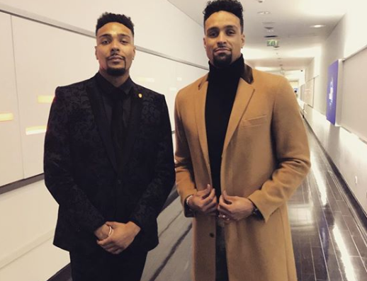 Ashley Banjo Cuddles Brother Jordan S New Baby Entertainment Daily