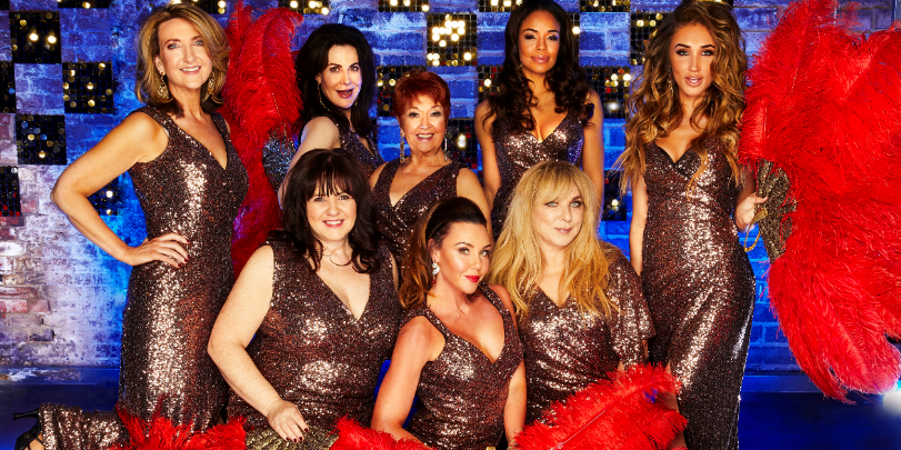 The Real Full Monty stars will have to skate and strip!