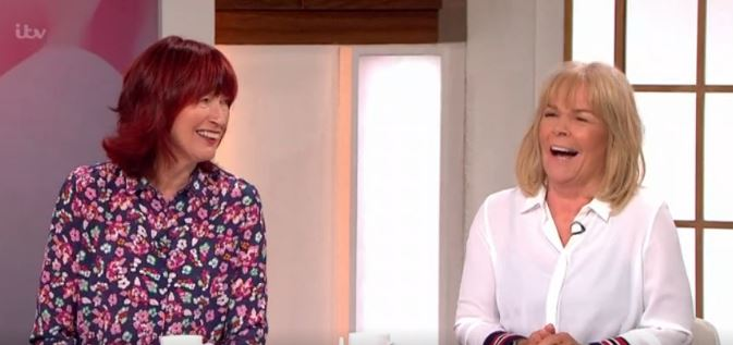 Loose Women's Janet Street Porter teases Linda Robson over swimsuit picture