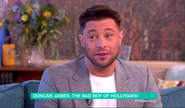 Duncan James - aka bad boy Ryan Knight - drops a major Hollyoaks spoiler!