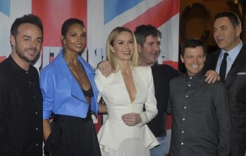 FLYNET - Britain's Got Talent Judges Pose On The Red Carpet At The Lowry Theater In Manchester