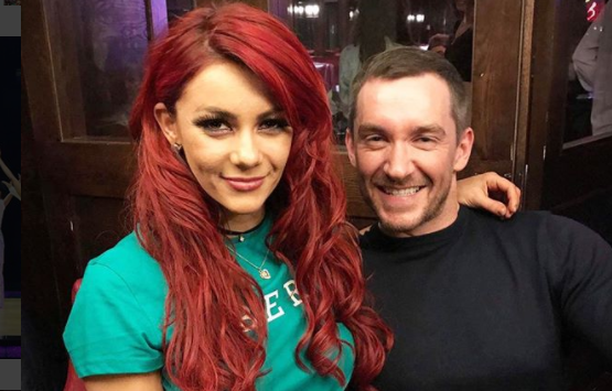 Dianne Buswell and Anthony Quinlan share sweet photos at Wimbledon