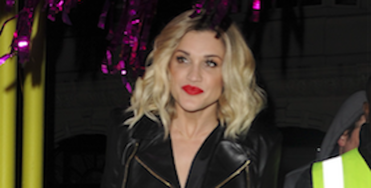 Devastated Ashley Roberts reveals her father has taken his own life
