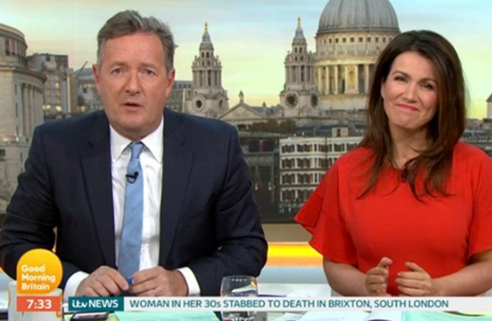 GMB viewers rejoice (and commiserate!) as Piers Morgan returns with Susanna Reid to new studio