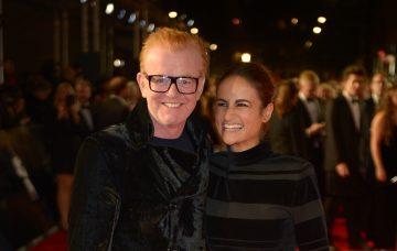 Chris Evans and wife Natasha
