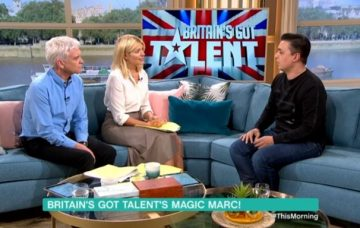 Britain's Got Talent magician Marc Spelman on This Morning