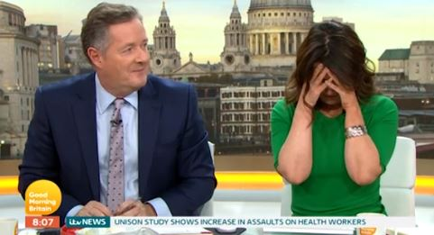 Piers Morgan shocks Susanna Reid with cheeky quip about his SEX LIFE