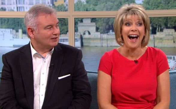 Eamonn Holmes embarrasses Ruth Langsford with knickers remark