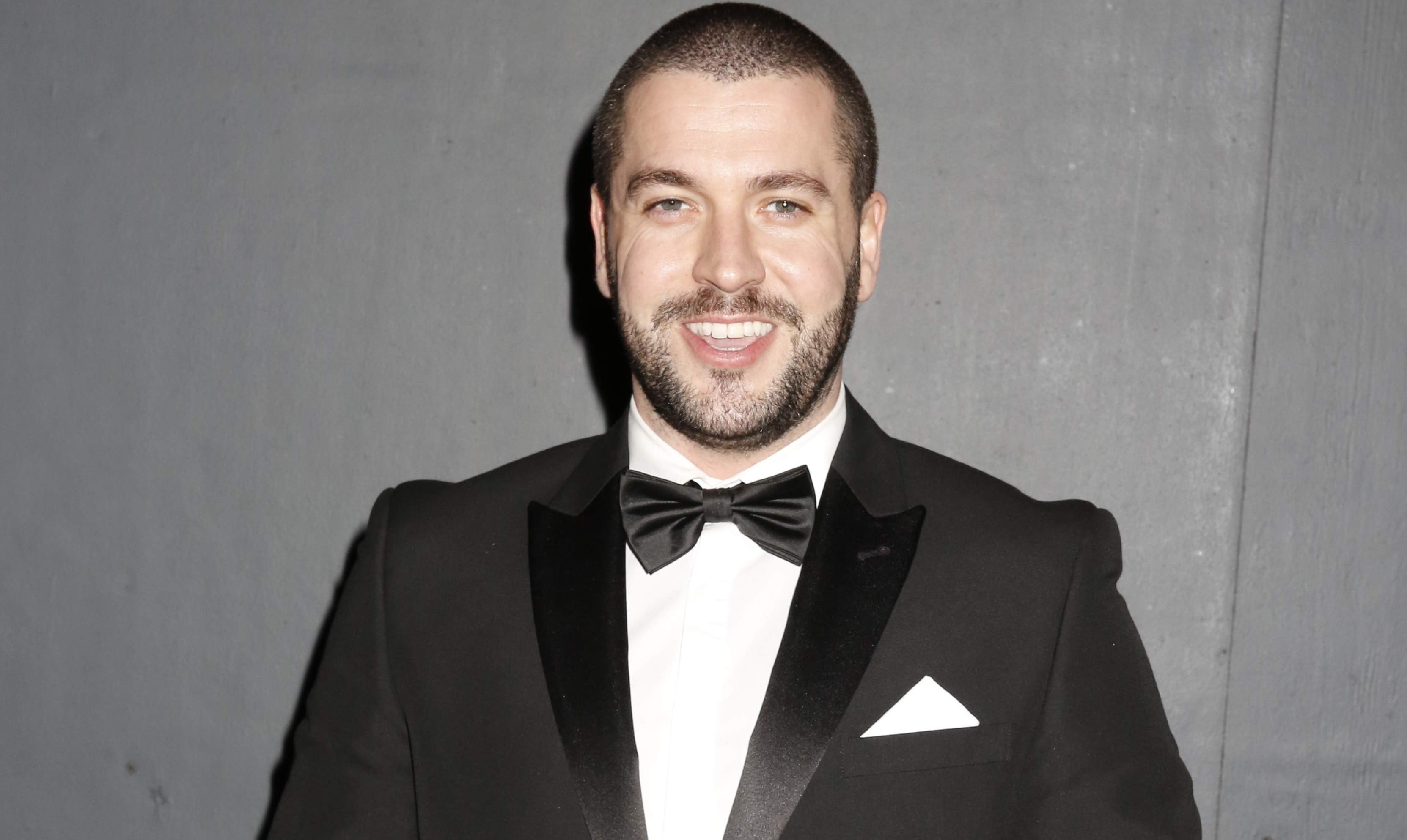 Shayne Ward looks completely unrecognisable at Corrie party