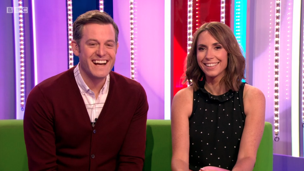 Alex Jones pays tribute to Matt Baker as he quits The One Show after nine years