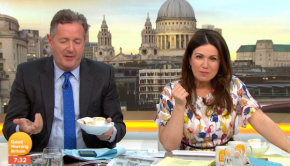 Piers Morgan reveals anger over new Good Morning Britain studio rule