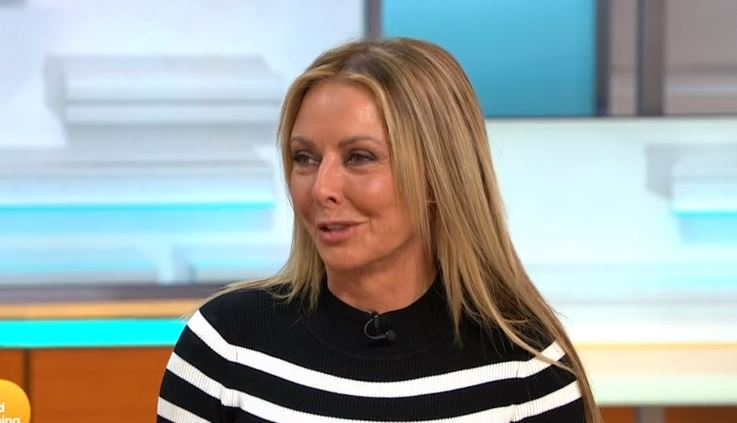 Carol Vorderman delights fans with 'stunning' appearance at Trooping the Colour 2018