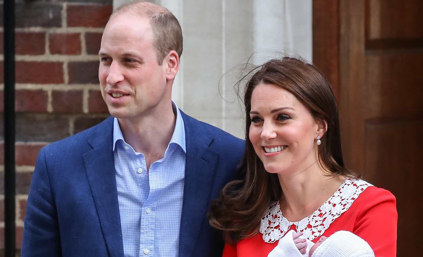 Duke and Duchess of Cambridge announce Prince Louis' godparents