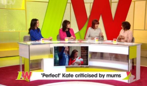 Loose Women defend Duchess of Cambridge over 'unrealistic' criticism