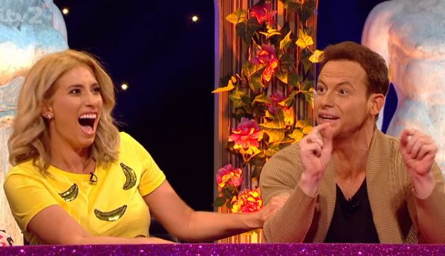 Stacey Solomon warns Joe Swash never to send her a naughty picture