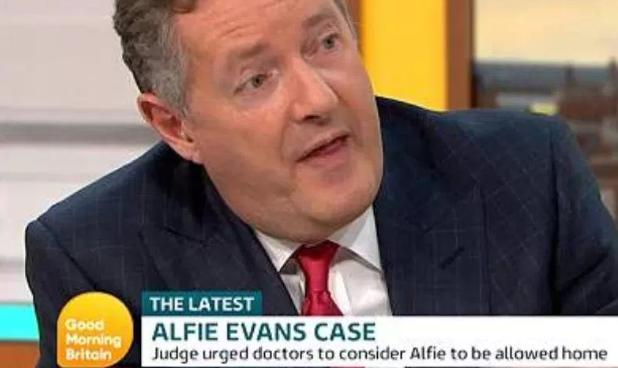 Piers Morgan's tribute as little Alfie Evans dies