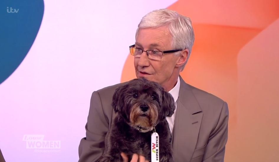 Paul O'Grady thrills Lorraine with special message for her dog Angus