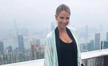 Vogue Williams denies marrying Spencer Matthews