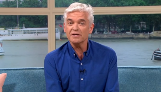 Phillip Schofield forced to change his appearance after landing first TV gig