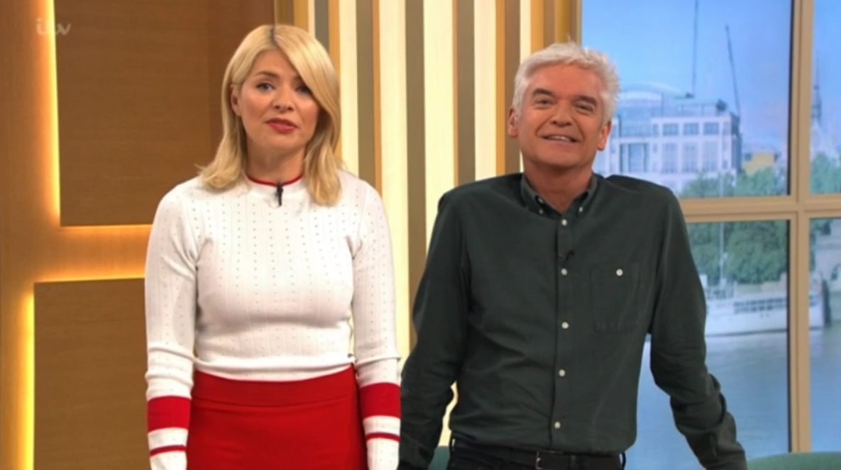 "Holly Willoughby says she's in the ""wrong job"""
